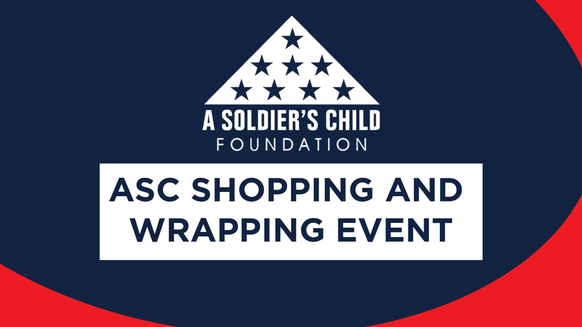 ASC Shopping and Wrapping Event