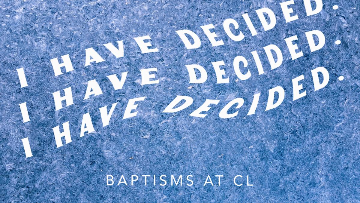 Baptism Registration